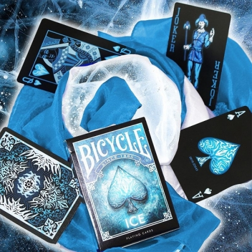 Bicycle - Ice Playing Cards