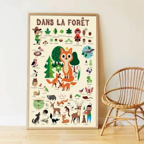 Poster forêt