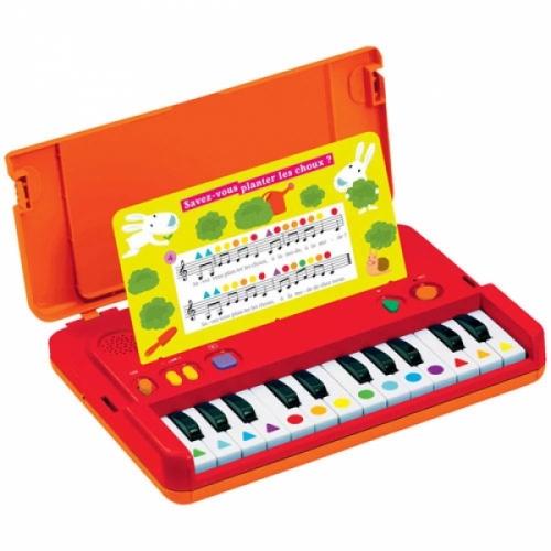 J'apprends la musique.