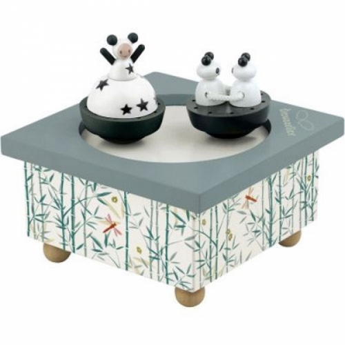 Boîte musique dancing panda