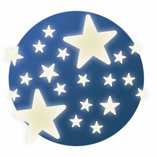 Décor phosphorescent étoiles