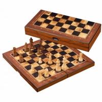 Coffret d'échecs pliable