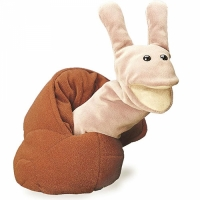 Marionnette escargot