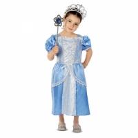 Costume princesse bleue