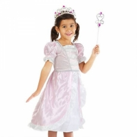 Costume princesse rose