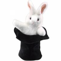 Marionnette rabbit in hat